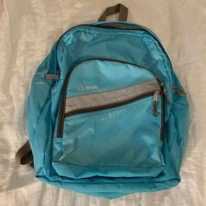 Blue L.L.Bean Backpack